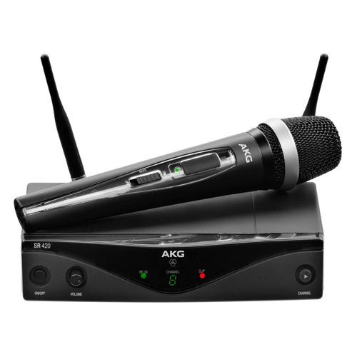 Радиосистема AKG WMS420 Vocal Set Band A беспровод. черный akg d5 stage pack