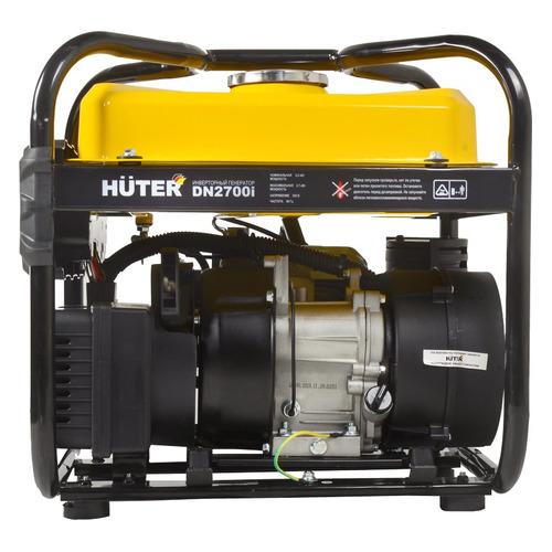 Бензиновый генератор HUTER DN2700i, 220 В, 2.7кВт [64/10/6] генератор бензиновый huter dy8000lх 3 64 1 28 15 л с 6 5 квт