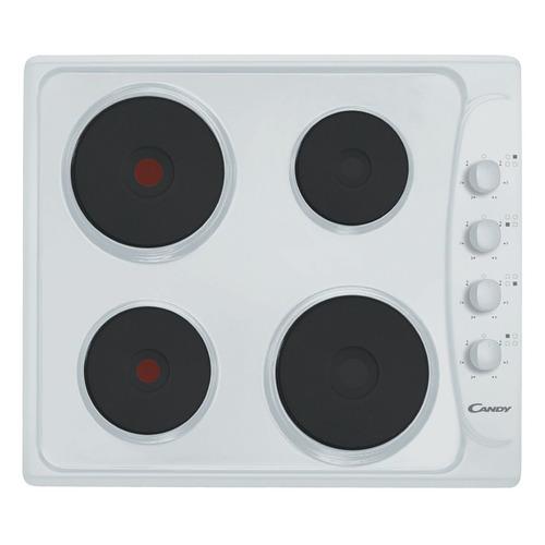 лучшая цена Варочная панель CANDY PLE 64 W, электрическая, независимая, белый