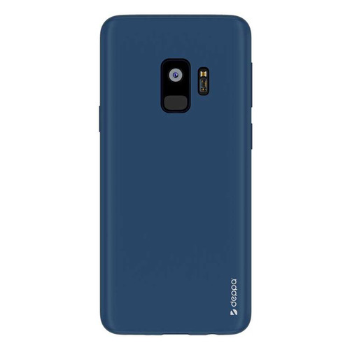 Чехол (клип-кейс) DEPPA Air Case, для Samsung Galaxy S9, синий [83339] чехол клип кейс deppa для samsung galaxy s9 case silk 1083764 синий 89002