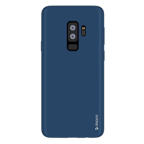 Чехол (клип-кейс) DEPPA Air Case, для Samsung Galaxy S9+, синий [83342] чехол клип кейс deppa для samsung galaxy s9 case silk 1083764 синий 89002