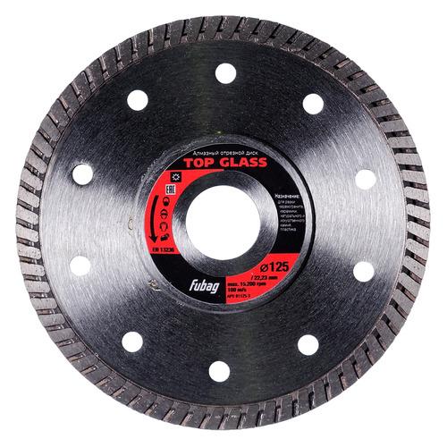 Отрезной диск FUBAG Top Glass, по керамике, 125мм, 1.4мм, 22.23мм [81125-3]