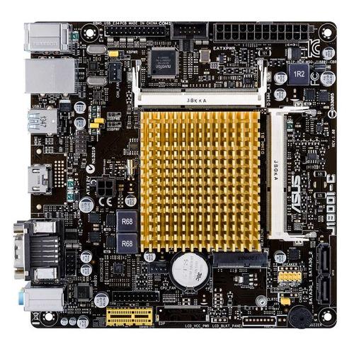 Материнская плата ASUS J1800I-C/CSM, mini-ITX, Ret цена и фото