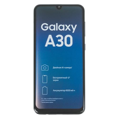 Смартфон SAMSUNG Galaxy A30 32Gb, SM-A305F, черный SM-A305FZKUSER