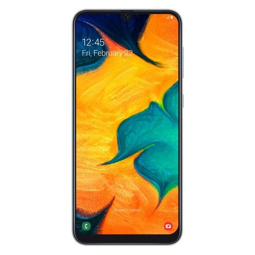 Смартфон SAMSUNG Galaxy A30 32Gb, SM-A305F, белый SM-A305FZWUSER