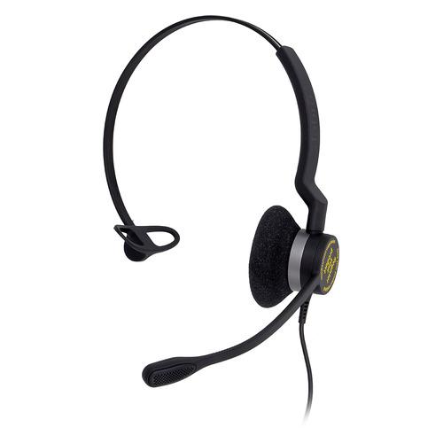 Гарнитура JABRA BIZ 2300 Mono, для контактных центров, накладные, черный [2393-823-109] цена и фото