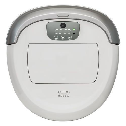 Робот-пылесос ICLEBO Omega, 53Вт, белый/серебристый цена и фото