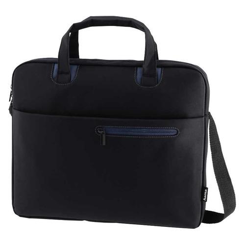 Сумка для ноутбука 15.6 HAMA Sydney, черный/синий [00101931] сумка для ноутбука 15 6 hama sydney полиэстер черный синий 00101931