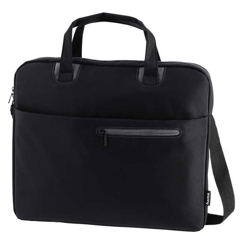 Сумка для ноутбука 15.6 HAMA Sydney, черный/серый [00101932] сумка для ноутбука 15 6 hama sydney полиэстер черный синий 00101931