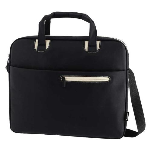 Сумка для ноутбука 15.6 HAMA Sydney, черный/бежевый [00101934] сумка для ноутбука 15 6 hama sydney полиэстер черный синий 00101931