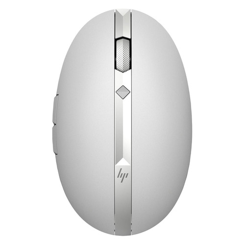 Мышь HP Spectre 700, лазерная, беспроводная, USB, серебристый [3nz71aa] мышь беспроводная hp 200 silk золотистый чёрный usb 2hu83aa