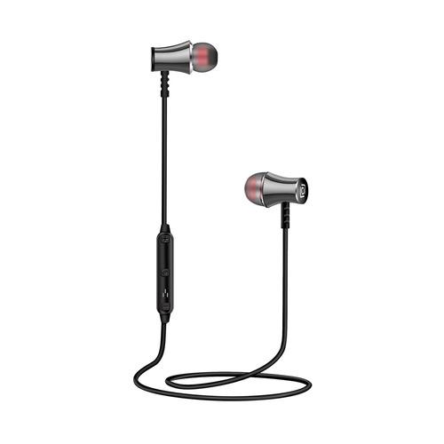 Наушники с микрофоном OKLICK BT-S-150, Bluetooth, вкладыши, серый [e714bt] беспроводные наушники oklick bt s 100 черный