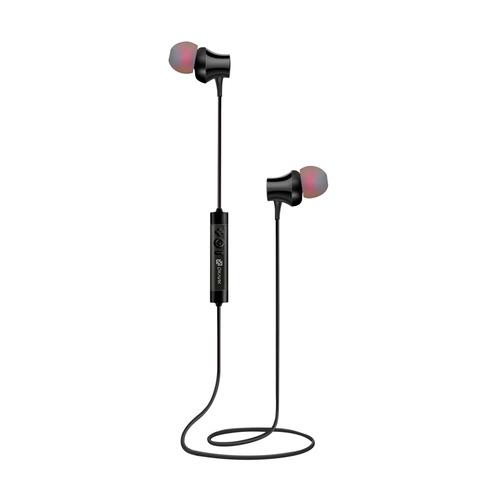 Наушники с микрофоном OKLICK BT-S-155, Bluetooth, вкладыши, черный [e716bt] беспроводные наушники oklick bt s 100 черный