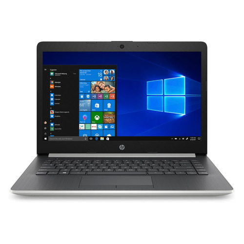 Ноутбук HP 14-cm1001ur, 14 , AMD Ryzen 3 3200U 2.6ГГц, 4Гб, 128Гб SSD, AMD Radeon Vega 3, Windows 10, 6ND99EA, серебристый  - купить со скидкой