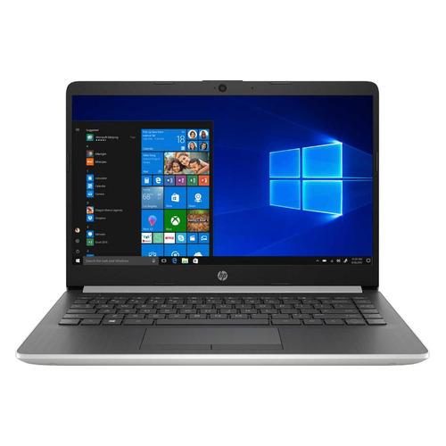 "Ноутбук HP 14-dk0004ur, 14"", AMD Ryzen 3 3200U 2.6ГГц, 8Гб, 128Гб SSD, AMD Radeon Vega 3, Windows 10, 6NC22EA, серебристый amd 14 dv"