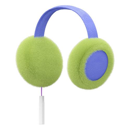 Наушники HIPER Sound, Bluetooth, накладные, зеленый