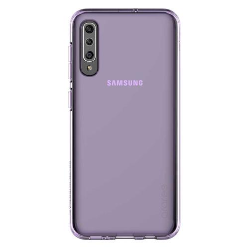 Чехол (клип-кейс) SAMSUNG Araree A Cover, для Samsung Galaxy A50, фиолетовый [gp-fpa505kdaer]  - купить со скидкой