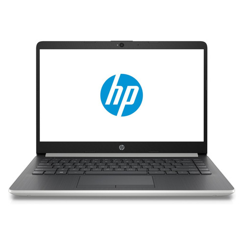 Ноутбук HP 14-cf0086ur, 14, Intel Pentium 4417U 2.3ГГц, 4Гб, 128Гб SSD, Intel HD Graphics 610, Windows 10, 6ND76EA, серебристый