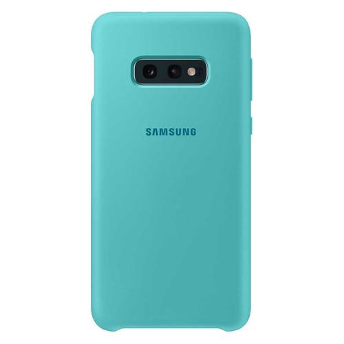 Чехол (клип-кейс) SAMSUNG Silicone Cover, для Samsung Galaxy S10e, зеленый [ef-pg970tgegru] цена в Москве и Питере