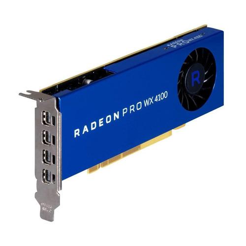 Видеокарта DELL AMD WX 4100 , Radeon Pro WX 4100, 4Гб, DDR5, oem [490-bdvo] цена и фото