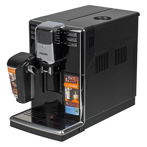 Кофемашина PHILIPS Series 5000 EP5040/10, черный/серебристый цена и фото