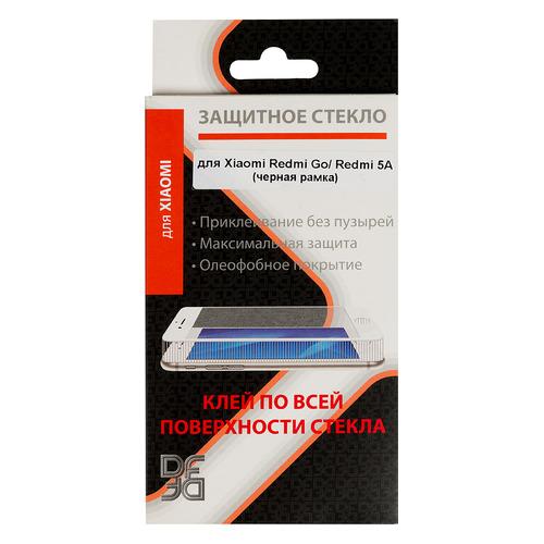 Защитное стекло для экрана DF xiColor-51 для Xiaomi Redmi Go, 1 шт, черный [df xicolor-51 (black)] DF XICOLOR-51 (BLACK)