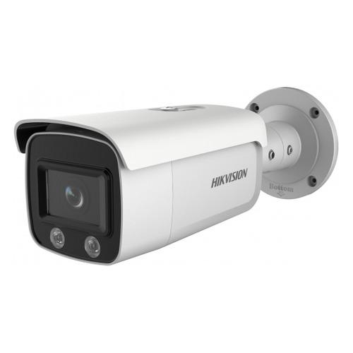 цена на Видеокамера IP HIKVISION DS-2CD2T47G1-L, 6 мм, белый