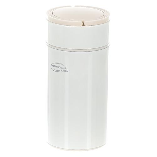 Термос THERMOS ThermoCafe Arctic-1000FJ, 1л, белый термос thermos thermocafe arctic 1000 157775 1л белый