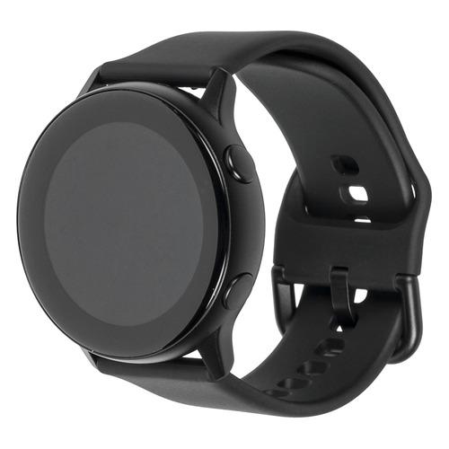 Смарт-часы SAMSUNG Galaxy Watch Active, 39.5мм, 1.1, черный / черный [sm-r500nzkaser]