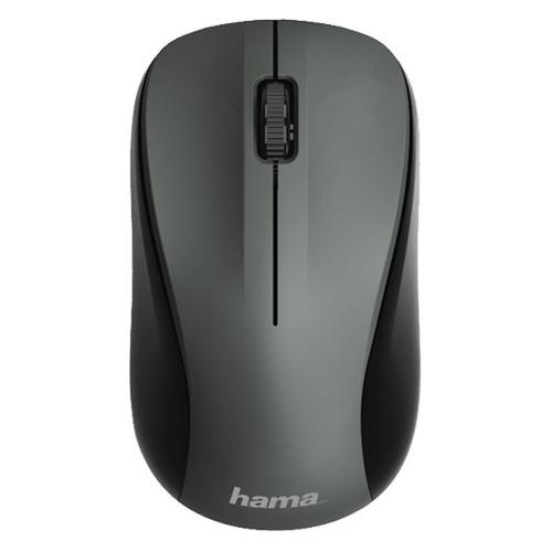 Мышь HAMA MW-300, оптическая, беспроводная, USB, серый [00182621]