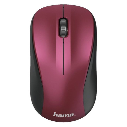 Мышь HAMA MW-300, оптическая, беспроводная, USB, розовый [00182624] мышь беспроводная hp 200 silk золотистый чёрный usb 2hu83aa