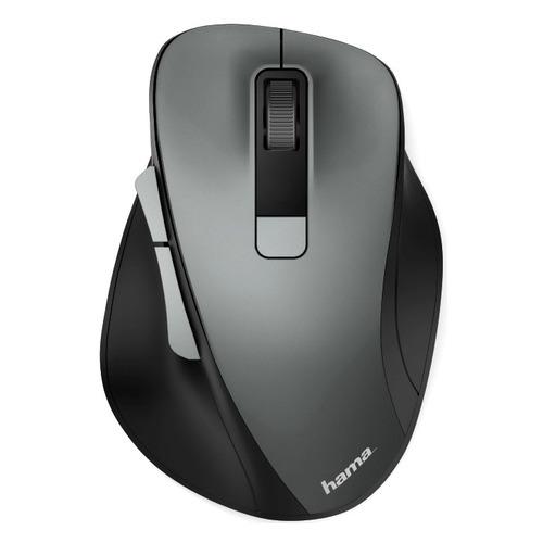 Мышь HAMA MW-500, оптическая, беспроводная, USB, серый [00182633] мышь hama mw 500 оптическая беспроводная usb серый [00182633]