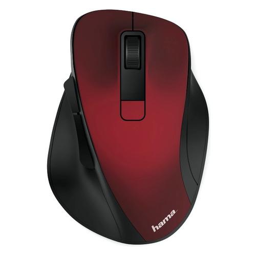 Мышь HAMA MW-500, оптическая, беспроводная, USB, красный [00182634] мышь hama mw 500 оптическая беспроводная usb серый [00182633]