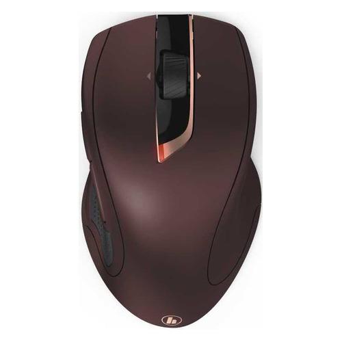 Мышь HAMA MW-900, лазерная, беспроводная, USB, бордовый [00182673] цена
