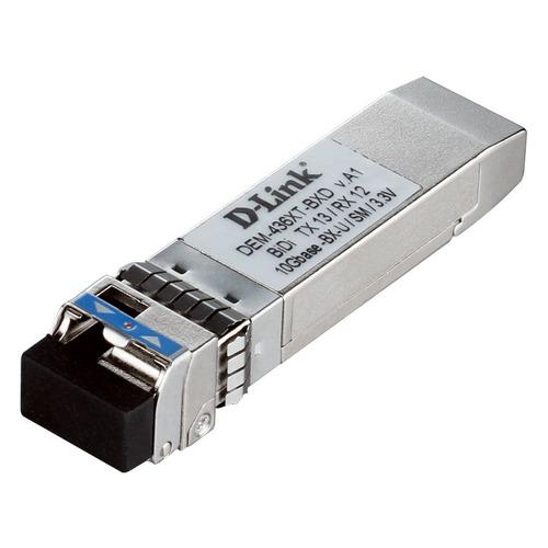 Фото - Трансивер D-Link 436XT-BXD/40KM/A1A SFP+ 1x10GBase-LR Tx:1330nm Rx:1270nm Singlemode 40km модуль sfp d link 310gt a1a lc 1310nm