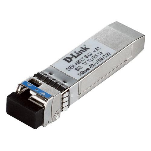Фото - Трансивер D-Link 436XT-BXU/40KM/A1A SFP+ 1x10GBase-LR Tx:1270nm Rx:1330nm Singlemode 40km модуль sfp d link 310gt a1a lc 1310nm