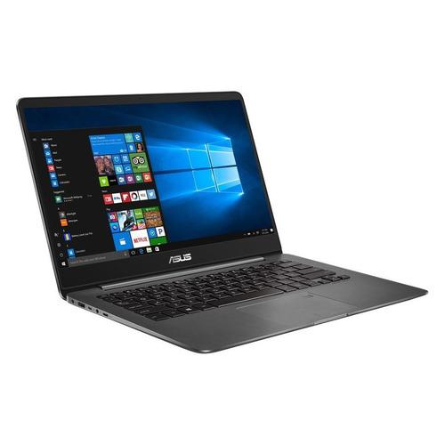 Ноутбук ASUS Zenbook UX430UN-GV191T, 14, Intel Core i7 8550U 1.8ГГц, 16Гб, 512Гб SSD, nVidia GeForce Mx150 - 2048 Мб, Windows 10, 90NB0GH1-M05400, серый ноутбук lenovo thinkpad t480 14 ips intel core i7 8550u 1 8ггц 16гб 512гб ssd nvidia geforce mx150 2048 мб windows 10 professional 20l5000brt черный