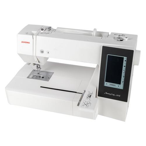 Вышивальная машина JANOME Memory Craft 500E белый