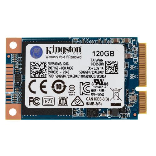 SSD накопитель KINGSTON UV500 SUV500MS/120G 120Гб, mSATA, SATA III цена