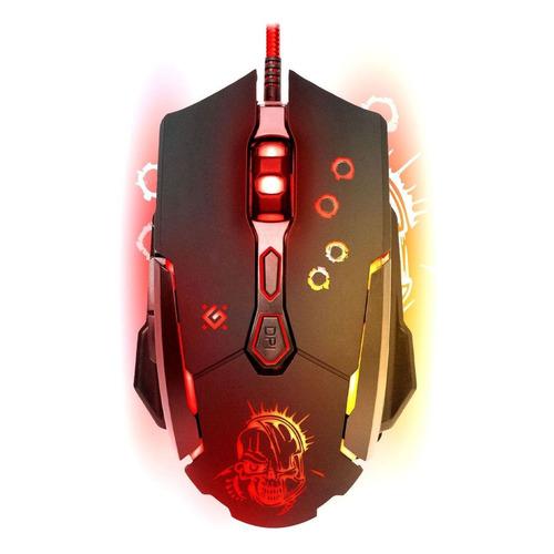 Мышь DEFENDER Killer GM-170L, игровая, оптическая, проводная, USB, черный [52170] недорого