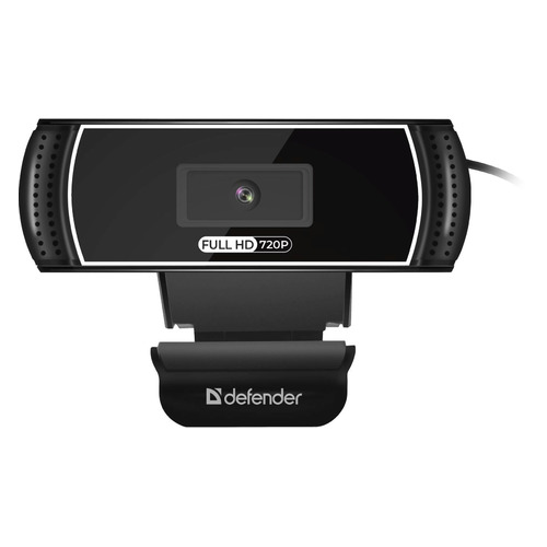 Фото - Web-камера DEFENDER G-Lens 2597, черный [63197] вэб камера defender g lens 2597 hd720p 2 мп автофокус слеж за лицом