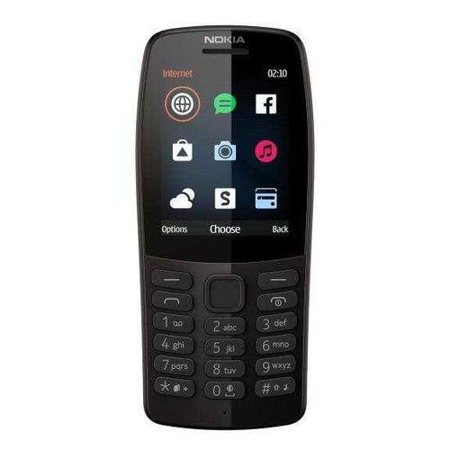 Мобильный телефон NOKIA 210 Dual Sim черный katherine o в режиме ожидания