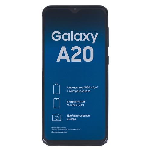 Смартфон SAMSUNG Galaxy A20 32Gb, SM-A205F, синий SM-A205FZBVSER