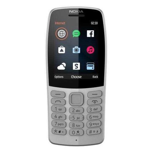 Мобильный телефон NOKIA 210 Dual Sim серый