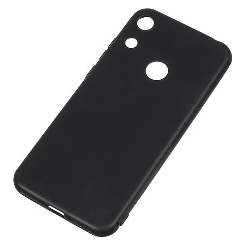 Чехол (клип-кейс) BORASCO Mate, для Huawei Honor 8A, черный [36386]