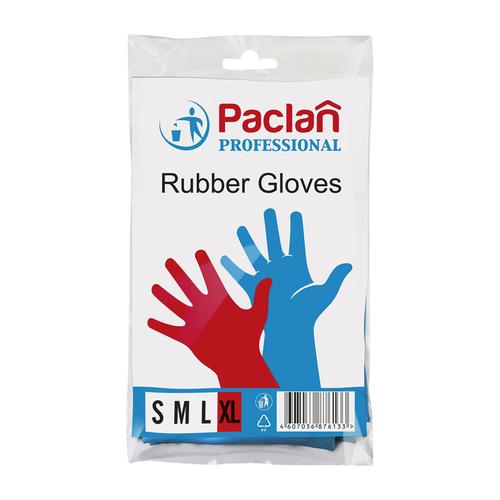 Перчатки PACLAN многоразовые, размер: XL, латекс, 1 пара [139230]