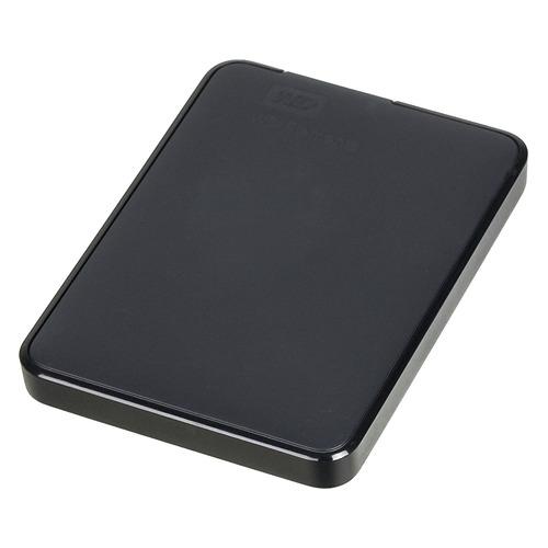 Фото - Внешний жесткий диск WD Elements Portable WDBMTM5000ABK-EEUE, 500ГБ, черный внешний жесткий диск wd my passport wdbuax0020brd eeue 2тб красный