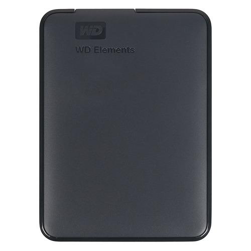 Фото - Внешний жесткий диск WD Elements Portable WDBMTM0010BBK-EEUE, 1ТБ, черный внешний жесткий диск wd my passport wdbuax0020brd eeue 2тб красный