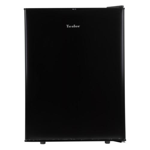 Холодильник TESLER RC-73, однокамерный, черный цена