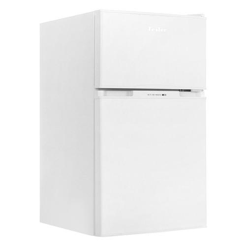 лучшая цена Холодильник TESLER RCT-100, двухкамерный, белый